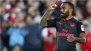 Lacazette ghi bàn ngay trận ra mắt, fan Arsenal sung sướng, mơ vô địch Premier League