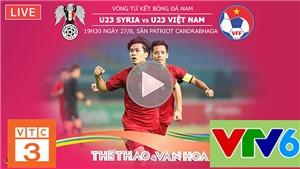 Xem trực tiếp bóng đá Asiad 2018 trên VTC3, VTV6, VOV, VTC, VTC Now