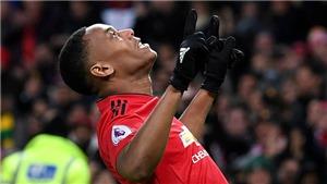 M.U: Anthony Martial đang là con át chủ bài của Mourinho