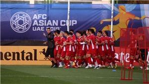 Lịch thi đấu bóng đá Asian Cup 2019 hôm nay ngày 16/1: Việt Nam đấu với Yemen