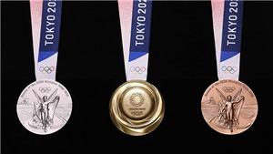 Bảng tổng sắp huy chương Olympic 2021 ngày 29/7. Bảng xếp hạng huy chương Olympic