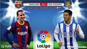 Kèo nhà cái. Soi kèo Barcelona vs Sociedad. BĐTV, SCTV17 trực tiếp bóng đá La Liga (01h00, 16/8)