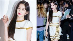 Irene Red Velvet xuất hiện tựa thiên thần với váy trắng trên thảm đỏ Chanel