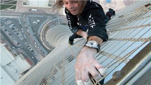 'Người nhện' bị bắt sau khi chinh phục đỉnh tháp Skyper ở Frankfurt Đức