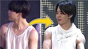 Bất ngờ trước sự phát triển cơ bắp của Jimin BTS chỉ sau vài tháng