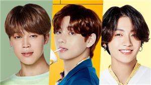 BXH nam idol K-pop 'hot' nhất tháng 10: Jimin, V và Jungkook BTS dẫn đầu