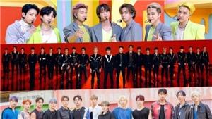 BXH Nhóm nhạc nam tháng 10: BTS dẫn đầu cách biệt