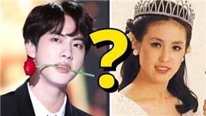 Jin BTS chính thức lên tiếng quanh tin đồn là con trai cựu hoa hậu