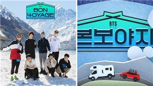 VIDEO: BTS 'nhá hàng' Bon Voyage mùa 4 tại New Zealand đầy tuyết