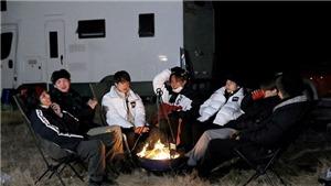 Nhờ RM mà cả nhóm BTS được thưởng thức cốc cà phê 'đặc biệt'