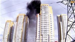 Cháy nhà chung cư tại Nga, đã tìm thấy 7 thi thể