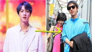 Lộ ảnh Jin BTS thời chưa nổi tiếng nhưng du khách đã xin chụp ảnh cùng vì đẹp trai