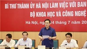 Hà Nội phấn đấu là trung tâm khoa học công nghệ hàng đầu của khu vực Đông Nam Á trong một số lĩnh vực
