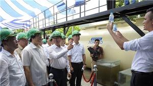 Hà Nội vận hành hệ thống xử lý nước thải gia đình và làng nghề thông minh đầu tiên tại Việt Nam