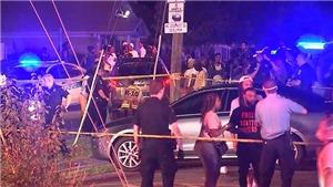 Lại xảy ra vụ nố súng ở Mỹ làm 2 người chết, 7 người bị thương