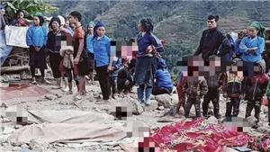 Sập tường khi dỡ nhà ở Hà Giang, 5 người chết tại chỗ, 2 người bị thương