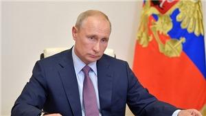 Nga chính thức công bố Hiến pháp sửa đổi