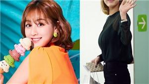 Fan 'chết ngất' trước Jihyo Twice, lần đầu nhuộm tóc vàng quá hoàn hảo