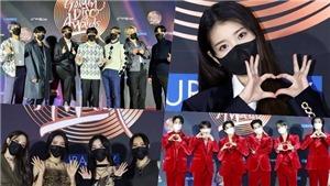 Ngắm dàn sao khủng tại thảm đỏ Golden Disc: BTS phá đội hình, Hwasa 'hở' táo bạo