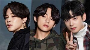 BXH Nam thần tượng tháng 1: Jimin dẫn đầu, Cha Eunwoo Astro vượt thành viên BTS