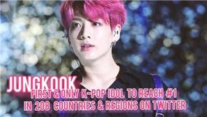 'Út vàng' Jungkook BTS tiếp tục lập kỷ lục chưa từng có