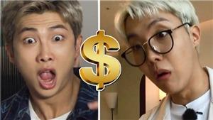 Là triệu phú nhưng BTS vẫn 'sốc' ghi đọc giá các đồ trong khách sạn