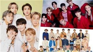 BTS gây 'choáng' với 40 tuần liên tiếp đứng đầu BXH danh tiếng