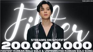 Jimin BTS lọt Top 1 trending toàn cầu sau kỷ lục mới