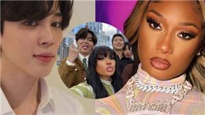 ARMY phấn khích về cuộc gặp mặt của BTS và Megan Thee Stallion