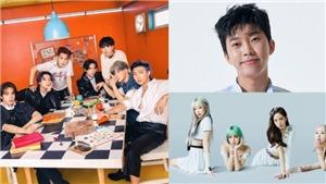 BTS 'thắng' sát nút Blackpink về độ hot trong tháng 9
