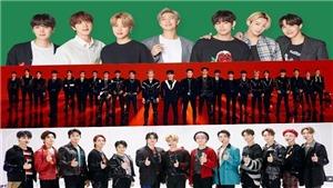 BXH Nhóm nhạc nam tháng 4: Tuần thứ 35 liên tiếp BTS giữ quán quân