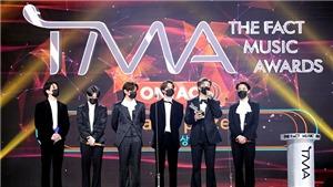 BTS không 'quên' Suga khi nhận giải tại The Fact Music Awards 2020