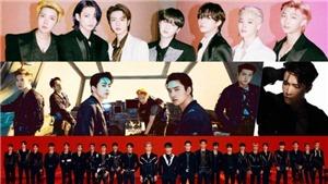 BXH Nhóm nhạc nam tháng 6: BTS dẫn đầu tháng 37 liên tiếp