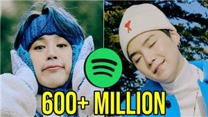 10 nghệ sĩ Kpop được stream nhiều nhất tháng 1 trên Spotify: BTS chiếm ngôi đầu