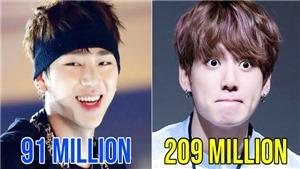 Ca khúc solo của nam idol Kpop được stream nhiều nhất Spotify: BTS đổ bộ