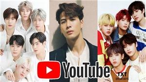 Top 10 sao K-pop 'hút' fan nhất trên YouTube