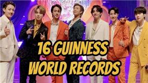 BTS lập thêm một kỷ lục Guinness thế giới mới