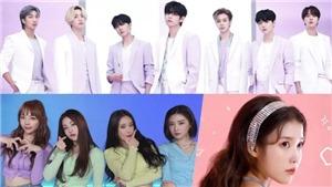BTS, Brave Girls và IU dẫn đầu BXH Ca sĩ K-pop tháng 4