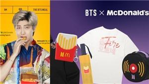 Loạt đồ McDonald's kết hợp với BTS giá 'mềm' ARMY có thể mua