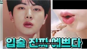 Jin BTS là thần tượng K-pop sở hữu đôi môi 'được mong muốn nhất'