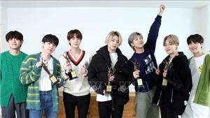 BTS là nhóm nhạc nam 'hot' nhất K-pop tháng 8