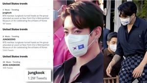 Jungkook BTS khiến fan Mỹ 'điên đảo': Vẻ đẹp khó cưỡng!