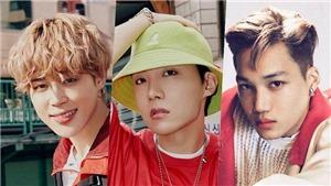 BXH Nam thần tượng tháng 12: Jimin dẫn đầu, Kai EXO 'sánh vai' với BTS