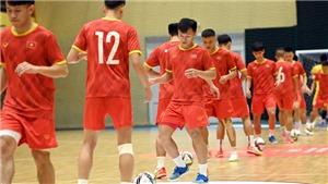 Bóng đá Việt Nam hôm nay: Futsal Việt Nam sẵn sàng tạo 'địa chấn' trước Brazil