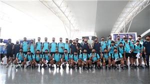 Bóng đá Việt Nam hôm nay: Thầy trò HLV Park Hang Seo lên đường. Futsal Việt Nam về nước
