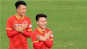 Bóng đá Việt Nam hôm nay: Đội tuyển Việt Nam tập buổi đầu tiên tại UAE lúc 22h00