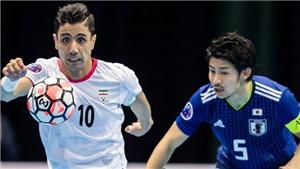 KẾT QUẢ Futsal Serbia 2-3 Iran, Kết quả Futsal World Cup 2021 hôm nay