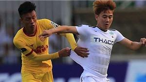 Bóng đá Việt Nam hôm nay: Nam Định đấu SLNA (18h00). Thanh Hóa muốn hay hơn nữa
