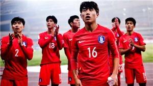 Kết quả bóng đá: U23 Trung Quốc thua Hàn Quốc ở phút bù giờ