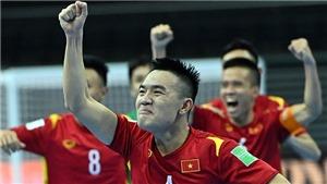 Bóng đá Việt Nam hôm nay: Futsal Việt Nam đấu Nga (21h30, 22/9)